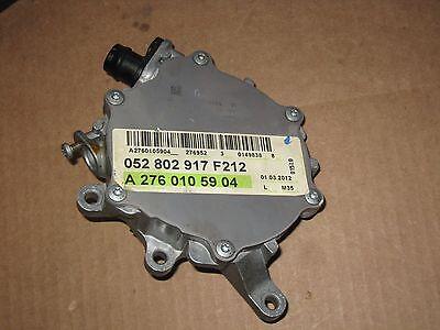MERCEDES C300 C350 CLK350 E280 E350 GLK350 R280 R300 VACUUM PUMP 2722300565 OEM