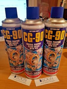 Action-Can-CG-90-Clear-Grease-Lubricant-Water-Resistant-H1-Food-Grade-PTFE-500ml