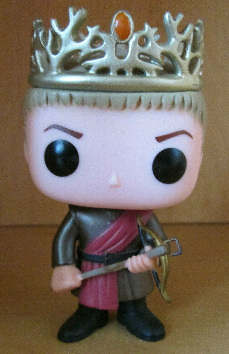 Funko POP  Game of Thrones Joffrey Baratheon Destroyed Box
