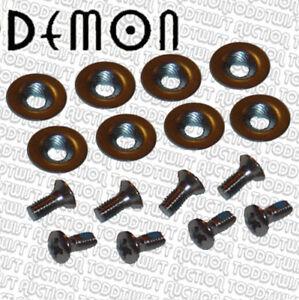 DEMON-16mm-SNOWBOARD-Binding-fijaciones-amp-Arandelas-Juego-de-8