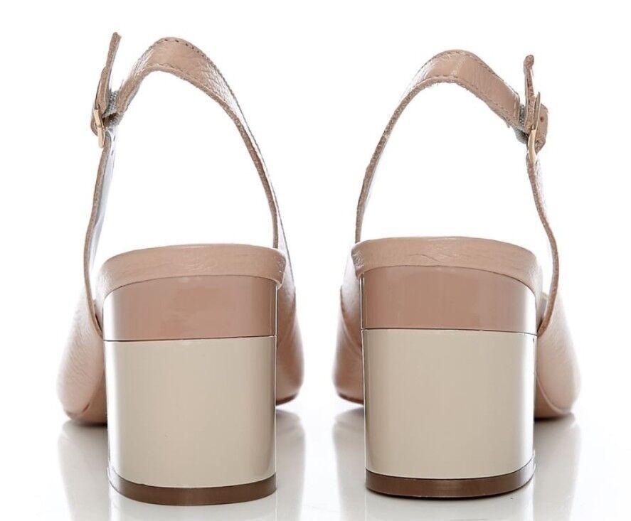Moda In Pelle Delila Nude Leder heels Damens Größe Eu Eu Größe 40 7fb20a
