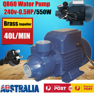 Electric-Motor-Clean-Water-Pump-QB60-Garden-Rain-Tank-Irrigation-1-2HP-220V-550W