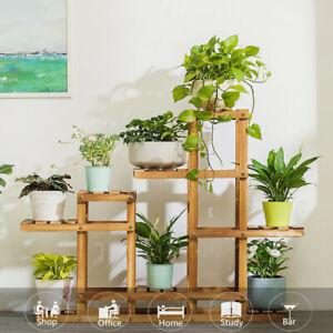 Multi Tier Flower Rack Plant Stand Holder Wood Shelves Bonsai Shelf Bookshef Ja 7625847226791 Ebay