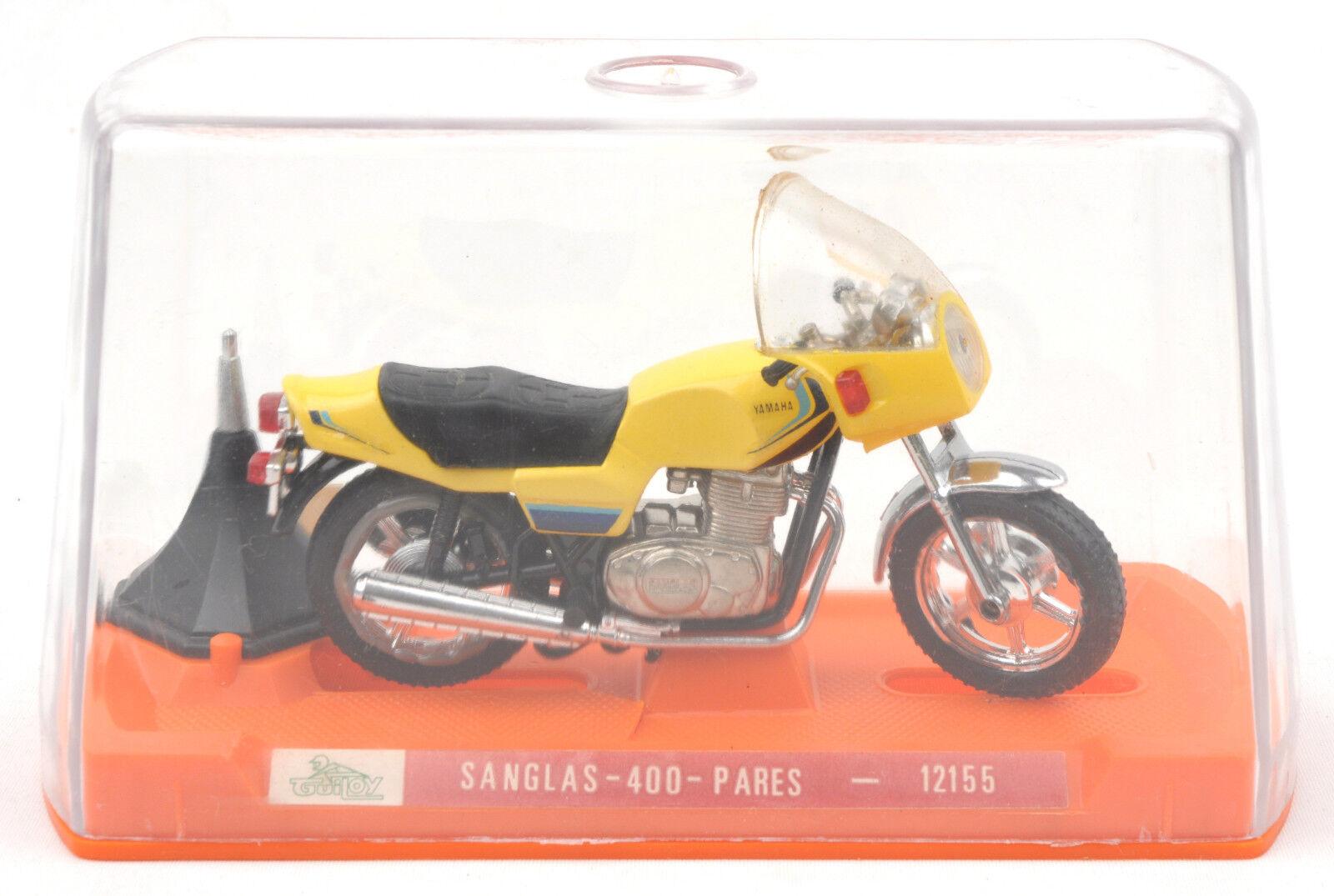 Vintage Guiloy (Spain) 1 18 Yamaha Sanglas 400 Pares Ref.12155 MIB