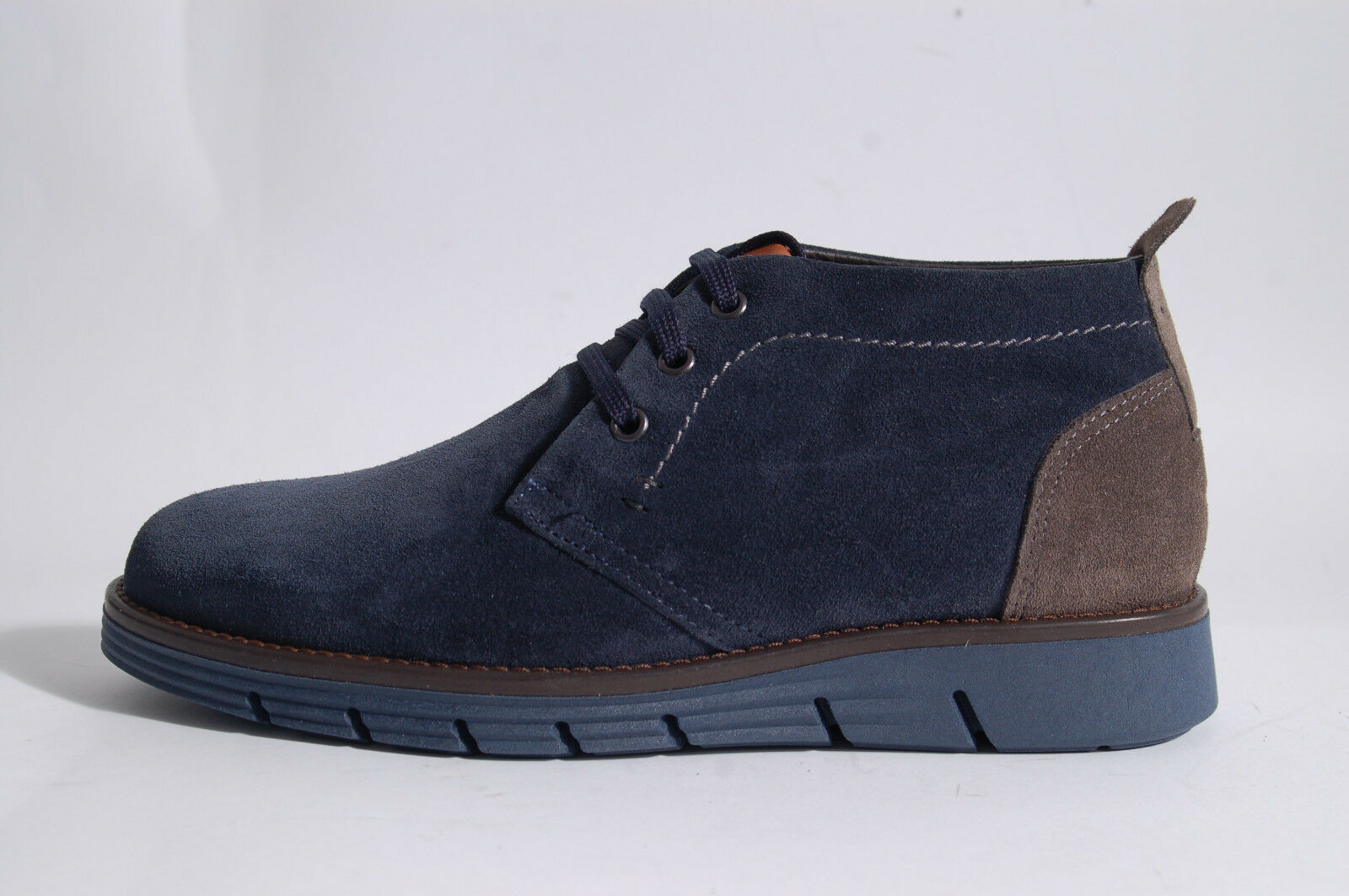 Acc Hand Made Italian Shoes Boots Smooth And Suede 1500
