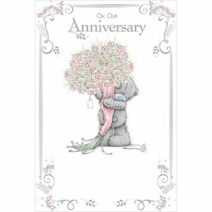 On our anniversary medium carte blanche tatty teddy me to you image is loading on our anniversary medium carte blanche tatty teddy m4hsunfo
