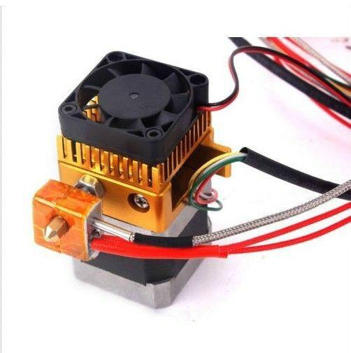 0.2mm Nozzle MK8 Extruder Print Head for 3D Printer Reprap Mendel Makerbot 100k