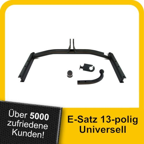 Für Volkswagen Passat Variant B5FL 3B 00-05 Anhängerkupplung starr+ES 13p uni.