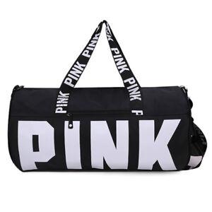 Details About Victoria S Secret Pink Sport Duffle Gym Bag Travel Yoga