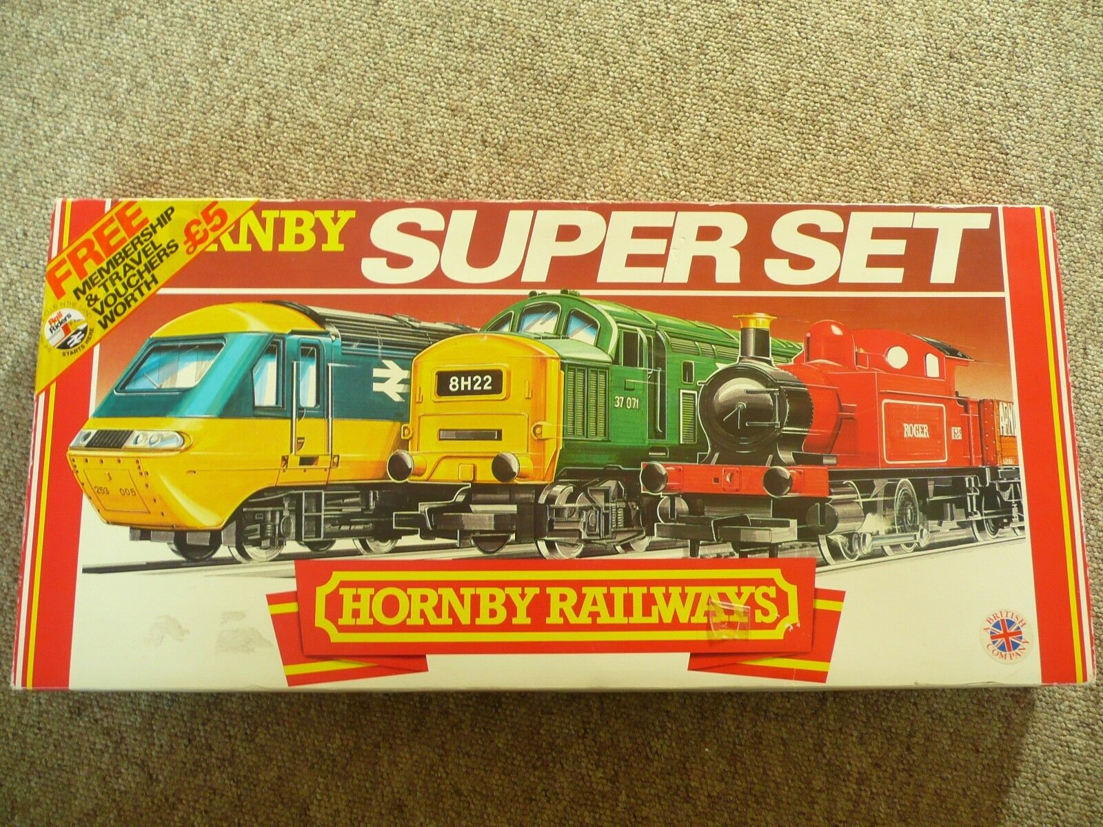 HORNBY R696 INTER CITY   XPT  SUPER TRAIN SET - VERY RARE