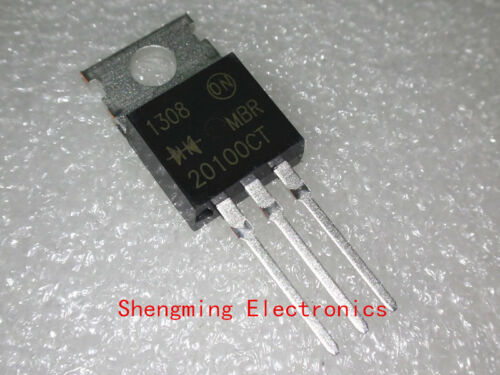 20PCS MBR20100CT MBR20100 Diodes Rectifier 100V 20A TO-220