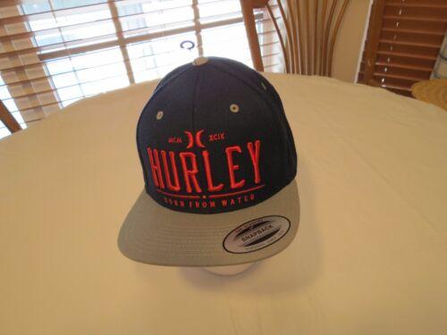 Hurley Cap Hat snapback Men/'s adult NEW OSFM navy blue surf skate red classics