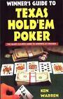Winner's Guide to Texas Hold 'em Poker by Ken Warren (1995, Paperback)