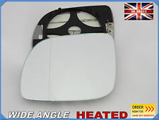 Wing Mirror Glass VW LUPO 1998-2005 Aspheric HEATED Left Side #1019