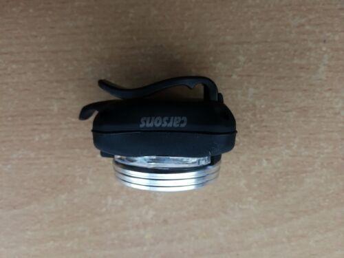 front 3 led /& rear moon USB rechargeable bike lights set kit light lamp CARSONS