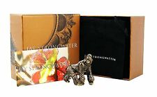 JAY STRONGWATER GORILLA HOWARD MINI FIGURINE SWAROVSKI CRYSTALS BRAND NEW BOX