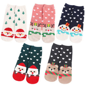Women Men Cartoon Icons Items Pattern Cushion Crew Socks