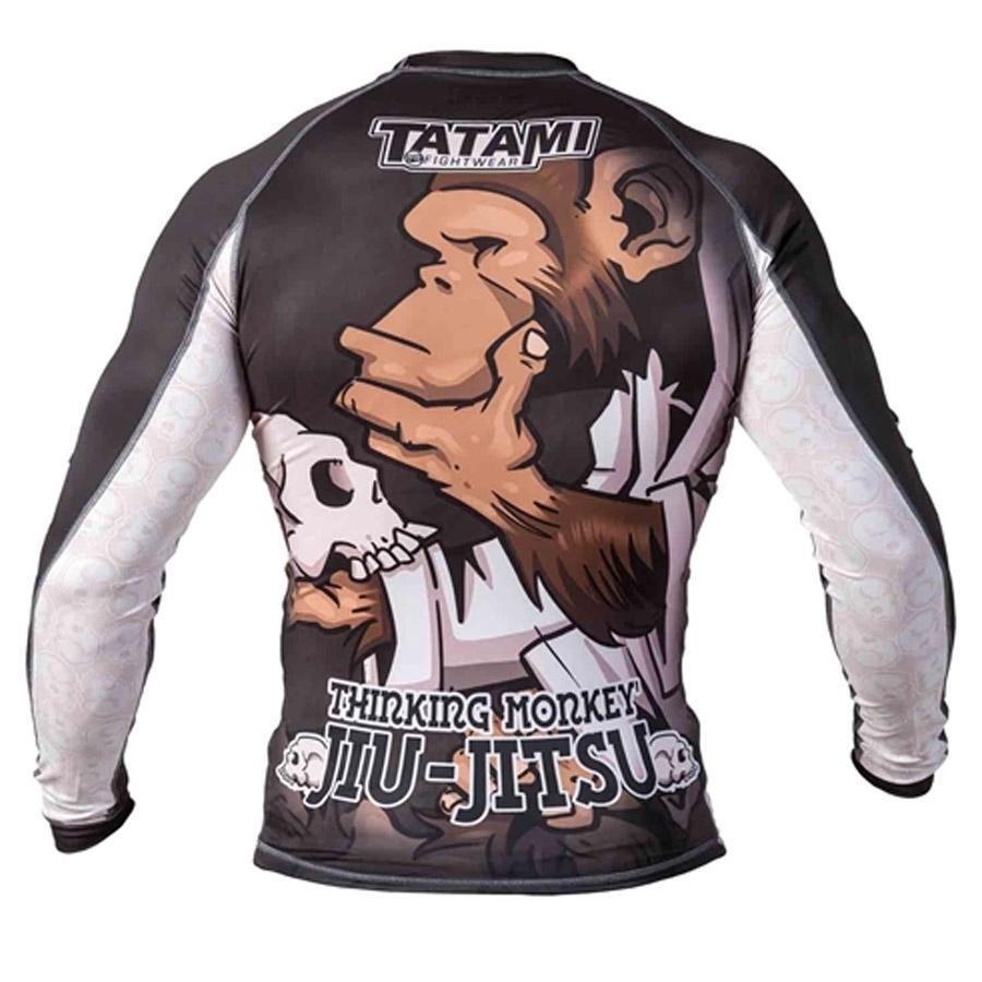 Tatami Kampf Kleidung Thinker Affe Rashguard Erwachsene Erwachsene Erwachsene BJJ training T-Shirt MMA 001f78