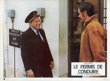 LOUIS VELLE PAUL PREBOIST LE PERMIS DE CONDUIRE 1974 PHOTO D'EXPLOITATION #5
