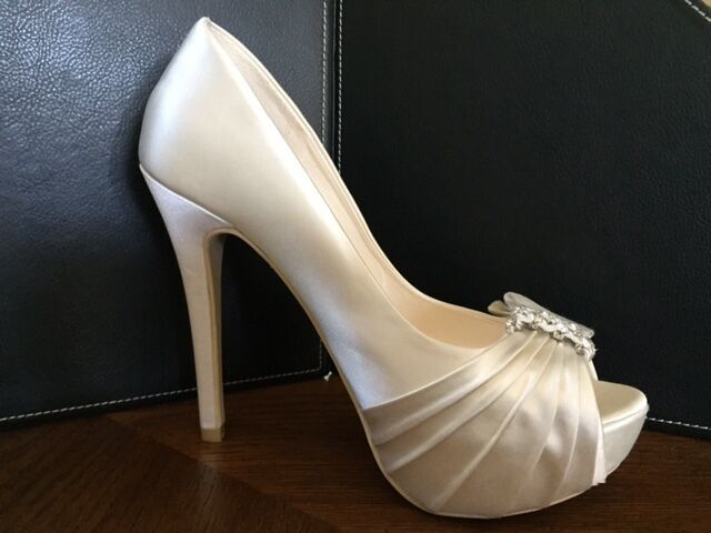 Exquisite Bridal Shoes by Membur Brand New