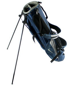 NEW-Nike-Golf-Adult-Sunday-Carry-amp-Stand-Lightweight-Golf-Bag-w-Straps-Blue