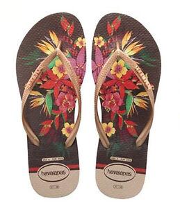 HavaianasSlim Tropical Flip Flops iP7j1