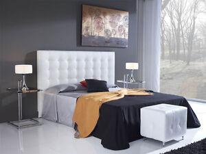 Cabeceros cama tapizados cabezal tapizado cama cabecero - Imagenes de cabeceros tapizados ...