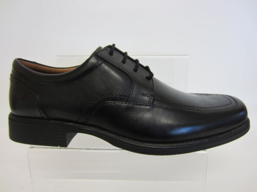 Ajuste 7 Tallas G Spring 12 Negros De Huckley Zapatos Hombre Piel X Clarks qwPZ66