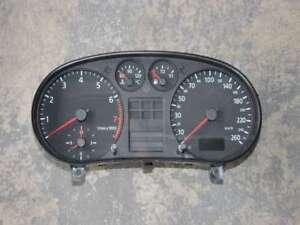 AUDI-a3-8l-1-8t-Tachimetro-Strumento-Combinato-8l0919860e-8l0919860ex-BENZINA-STRUMENTO