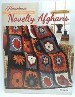 New Herrschners Novelty Afghans 2013 Crochet Knit Award Winners Pattern Book