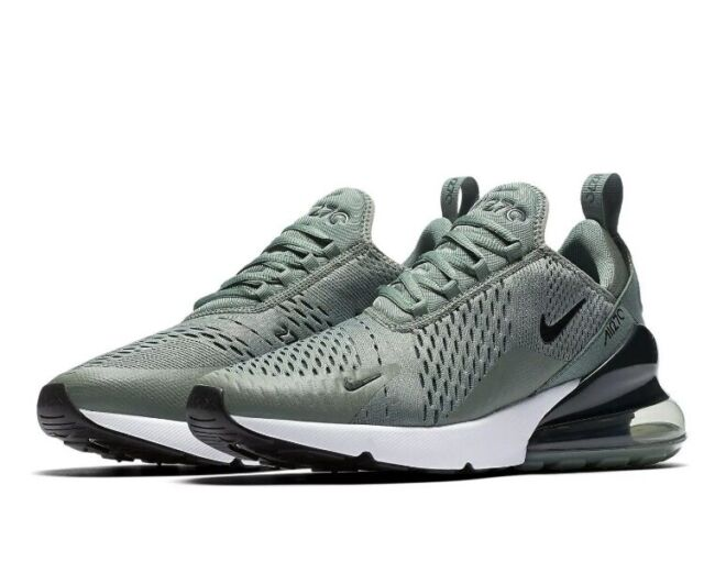 715773c347e90 Men's Nike Air Max 270 Running Shoes Clay Green/Deep Jungle Sz: 13 AH8050