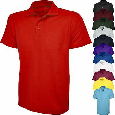 Polo Shirts Unisex Top School Top PE Collared Sport  Boys Girl Kids