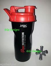 * PRIME NUTRITION *BLACK & RED SHAKER CUP-GREAT for Protein,Creatine,Pre-workout