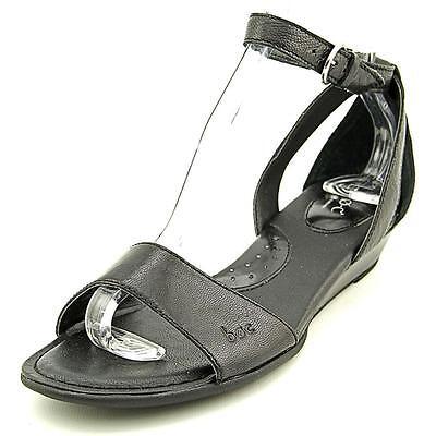 B.O.C. Pfeiffer   Open Toe Leather  Wedge Sandal