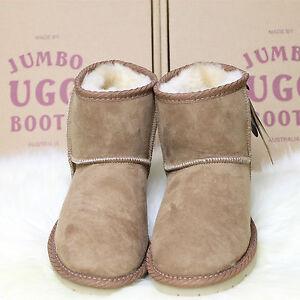 super popular 8fcf3 23a9b Details about Genuine Jumbo Classic Ultra Short UGG Sheepskin Boots 100%  Australian Made