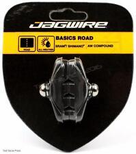 Jagwire Road Bike Caliper Brake Pads Threaded Shoes All-Weather SRAM/Shimano