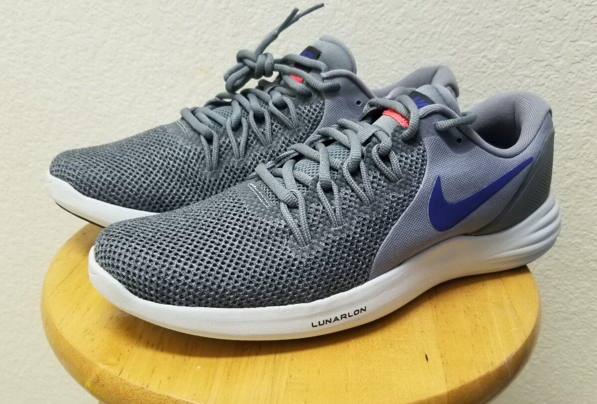 Nike Shoes Size 9.5 Grey  Uomo Running Shoes Lunarlon Apparent