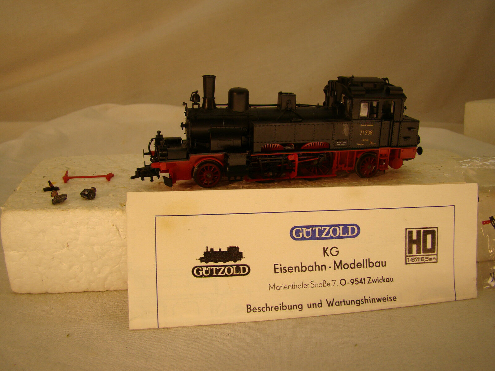 2-4-2  Good Quality Steam Locomotive - smooth runner and strong puller - HO