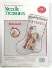Needle Treasures Counted Cross Stitch Kit Father Christmas Stocking 02848