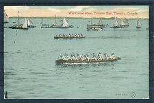 Ansichtskarte War Canoe Race Toronto Bay, Toronto, Canada - 00942