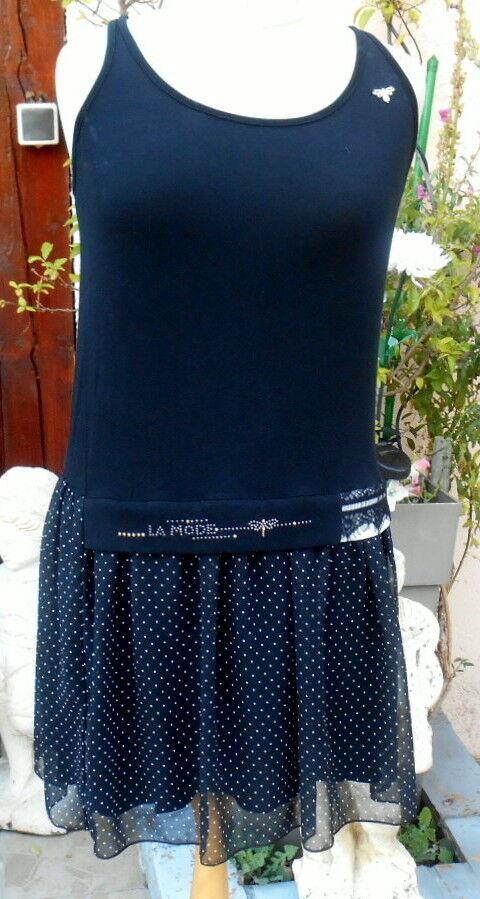 Petite Robe blacke la mode est a vous LMV size 36 38 modele LOFT  neuf s et