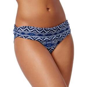d2030368b2bd NEW La Blanca Jean Indigo Ruched Swimwear Hipster Bikini Bottom size ...