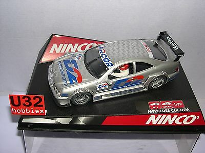 "Kinderrennbahnen New Fashion Ninco 50230 Slot Car Mercedes Clk #2 Dtm ""d2"" Mb"