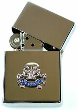 17TH 21ST LANCERS WINDPROOF CHROME PLATED LIGHTER