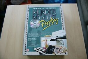 Murder-In-The-Office-Mystery-Party-Game-Great-Gift-Idea-VGC