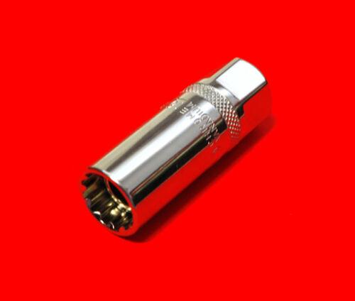 Spezial Zündkerzen Stecknuss 16mm Kerzen Steckschlüssel mit Magnet Halter N090