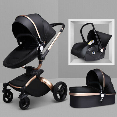 ef951a429ff1 2019 Baby Stroller 3 in 1 travel system Bassinet Combo jogger ...