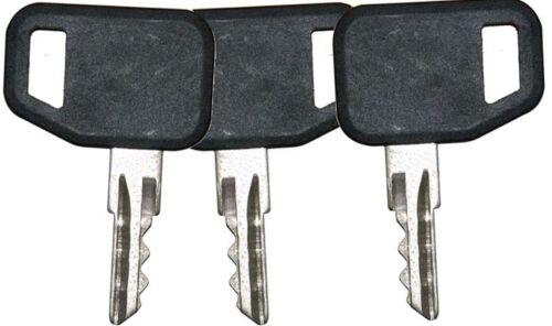 3 John Deere Gator Skid Steer Heavy Equipment Ignition Keys 131841