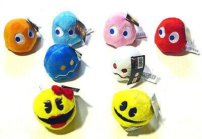 3 Gruppe Pacman, Ms Pacman, Monster & Geister Original Lizenziert