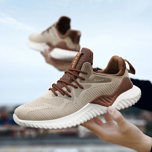 fb4998c2c00 Men s Running Sneakers Shoes Outdoor Sports Breathable Casual Shoes ...